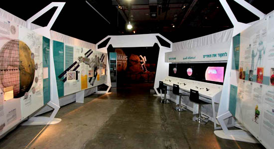 Getting to know the space exhibition